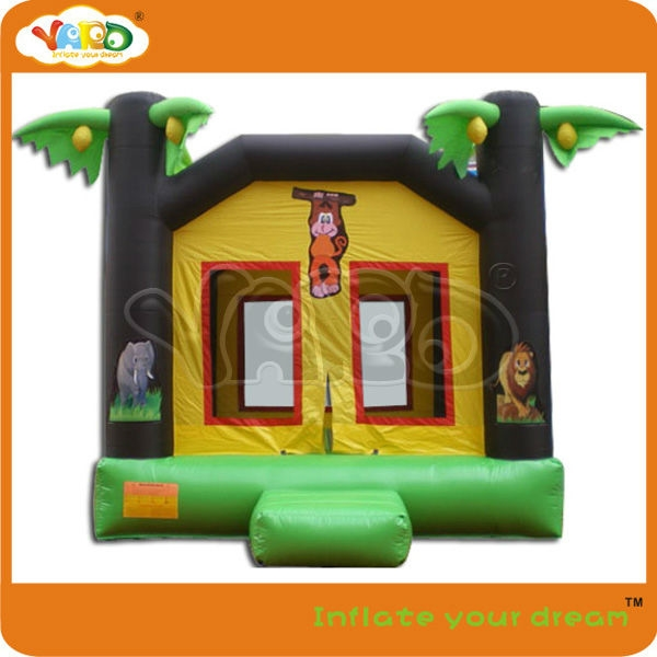 699.00$  Buy now - http://ali9w1.worldwells.pw/go.php?t=750718266 - Jungle inflatable bouncer