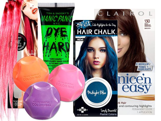 Temporary Hair Coloring Products | Beautiful | Temporary ...