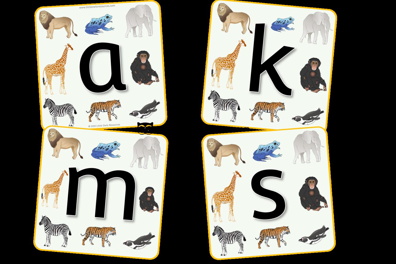 FREE Zoo Animal Alphabet printable Early Years/EY (EYFS