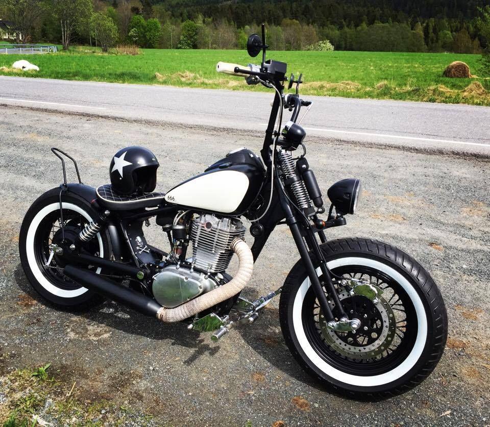Suzuki Savage 666cc Springer Fork 150 80 16 Tires Hd 3 16 Rim Rear Tires Are 150 90 15 Bobber Bikes Savage Suzuki Bobber Motorcycle