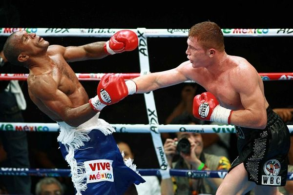 """Pretty Boy"" Floyd Mayweather, boxing, cinco de mayo, jail, las vegas, miguel cotto, shane mosley, The Ring ""Fighter of the Year"" in 1998 and 2007, WBC light middleweight champion Saul ""Canelo"" Alvarez"