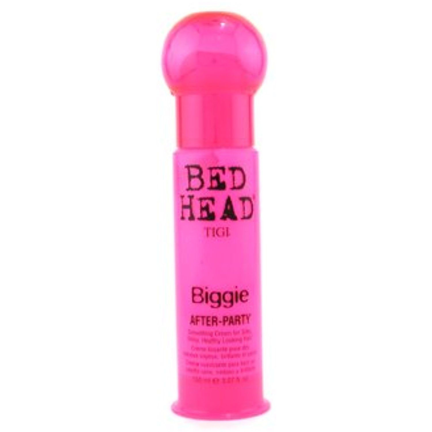 Tigi Bed Head Biggie After Party Smoothing Cream For Silky Shiny Healthy Looking Hair 150ml 5 07oz Click Image To Revi Smoothing Cream Bed Head Tigi