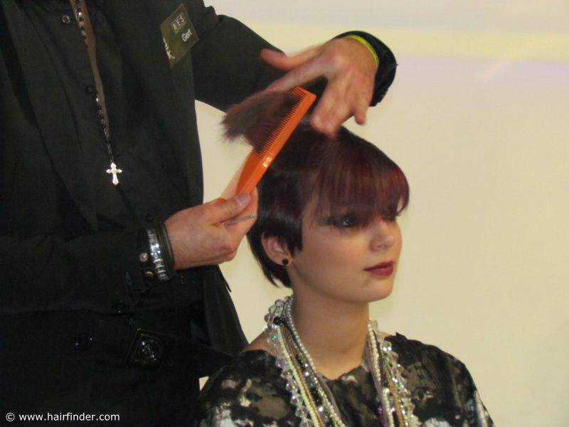 Short hair cutting short hairstyle with straight bangs photo short hair cutting short hairstyle with straight bangs photo provided by http winobraniefo Image collections