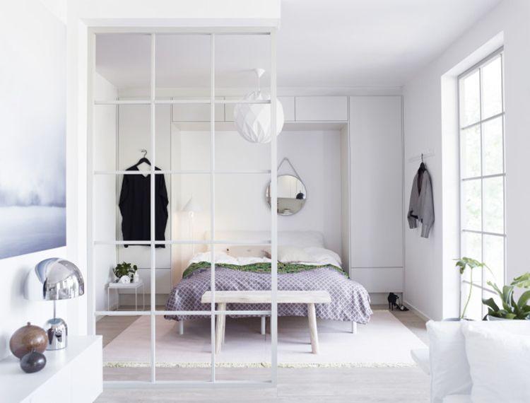 skiljevägg sovrum Sök på Google Väggar Pinterest Living rooms and Room