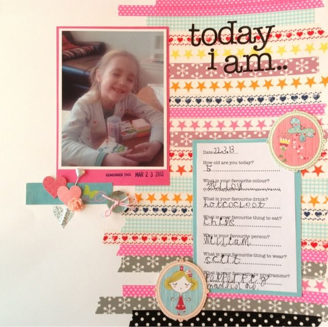 One Girls Adventures In Life And Scrapbooking Washi Tape From