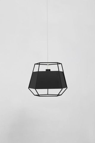 Black Cinque hanging lamp by Iacoli & McAllister