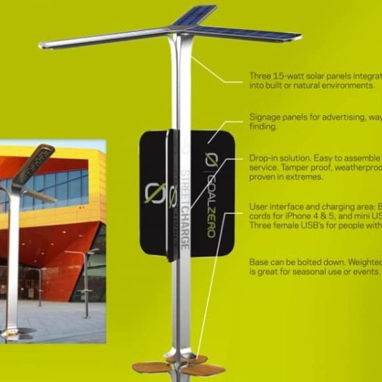 AT&T Tests SolarPowered Charging Stations Across NYC