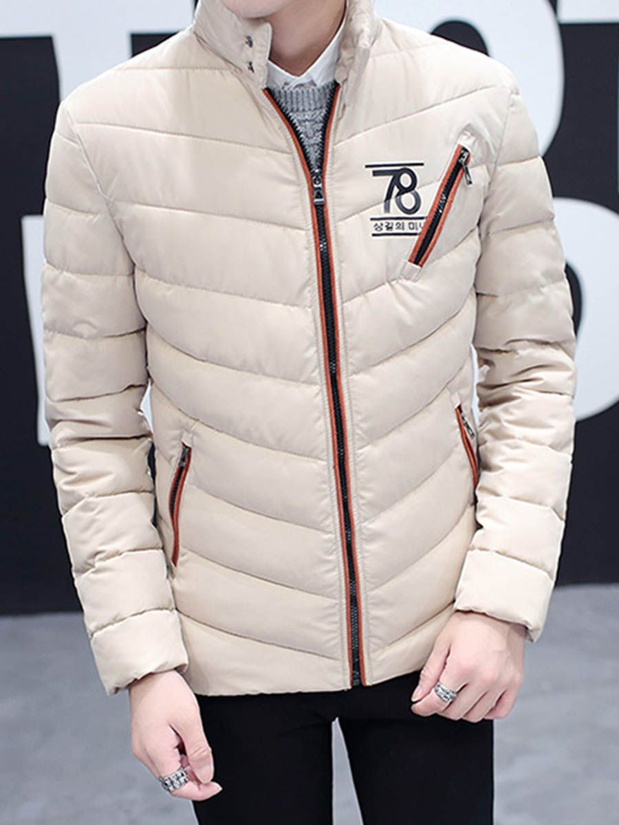 TBdressMenstyle You are handsome when you wear this Stand Collar Thicken  Warm Down Slim Men s Winter Coat  850b7e2d2d4a