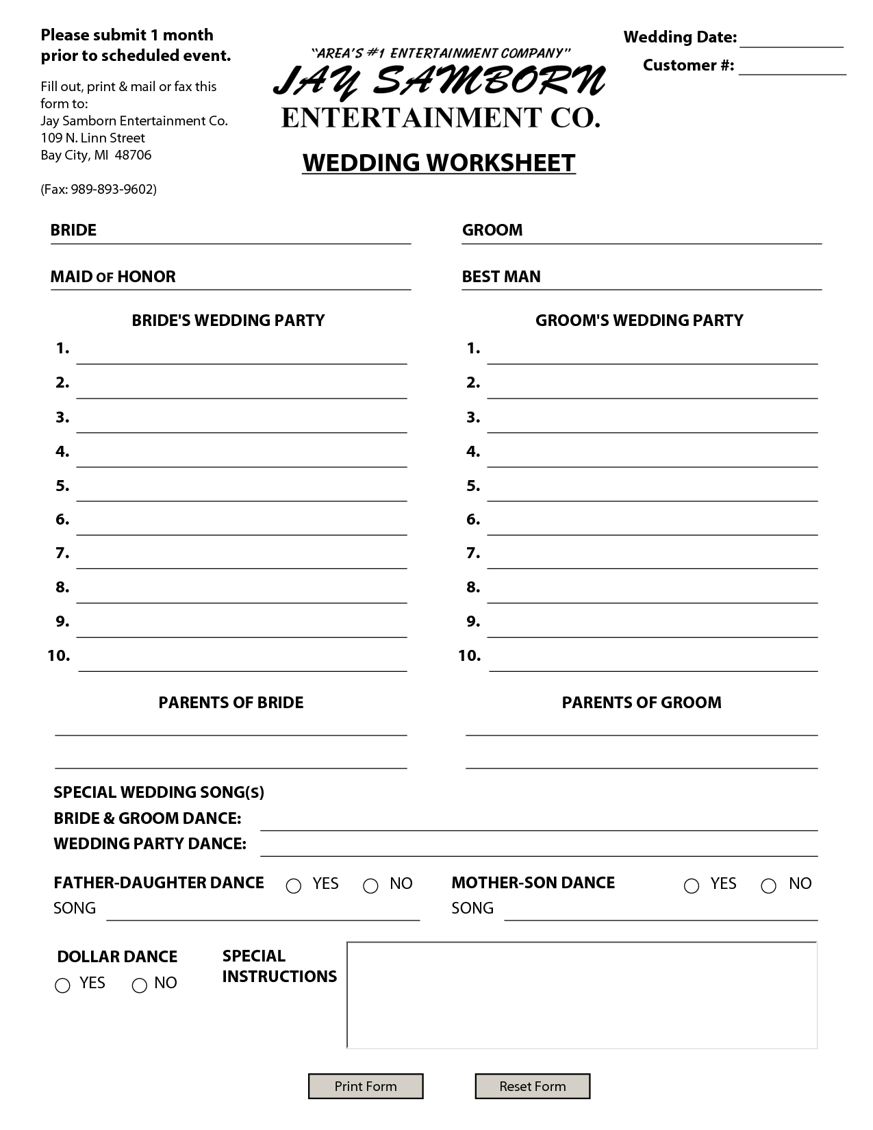 Cheap Wedding Budget In