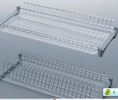2 Tier Dish Kitchen Cabinet Plate Rack - China dish rack & 2 Tier Dish Kitchen Cabinet Plate Rack - China dish rack | Kitchen ...