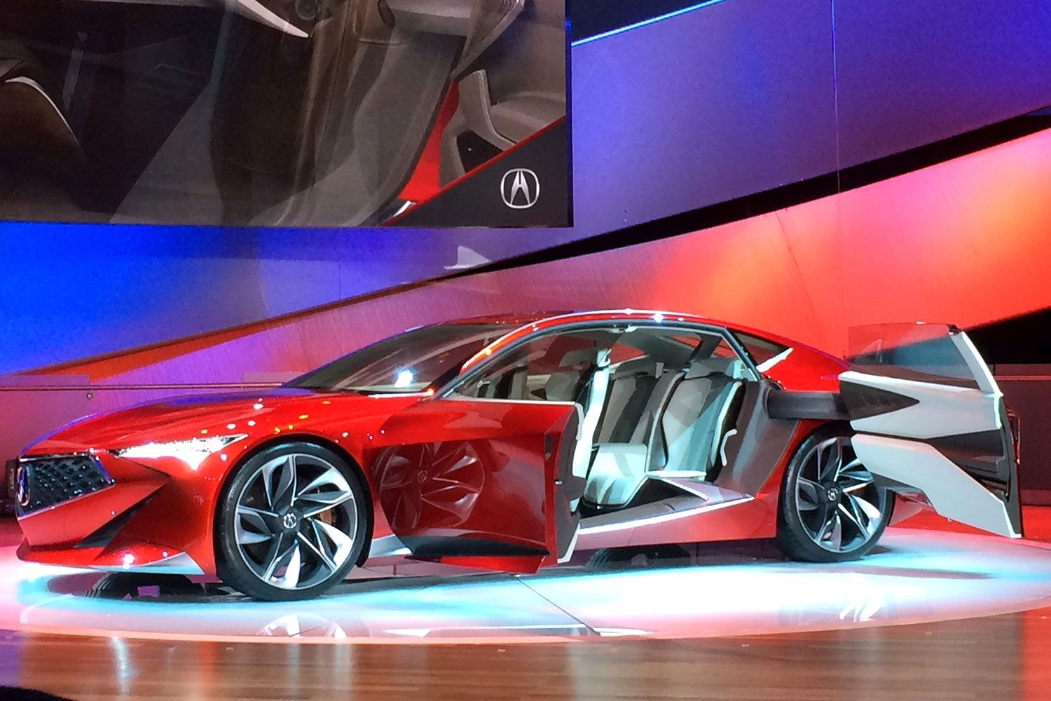 Acura\'s chiseled Precision concept hints at radically sharp designs ...