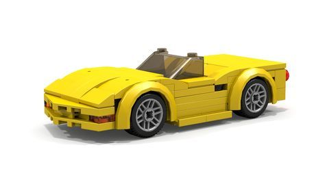 Custom Instructions On How To Build 6 Stud Wide Lego Chevrolet