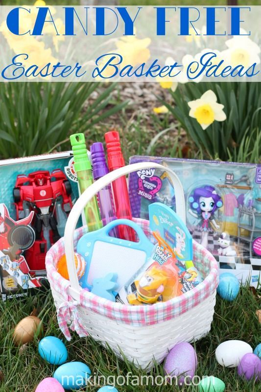 Candy free easter basket ideas basket ideas easter baskets and easter negle Image collections