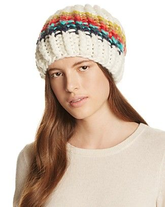 8c7571e16136a1 Free People Over The Rainbow Beanie | Bloomingdale's | Après Ski ...