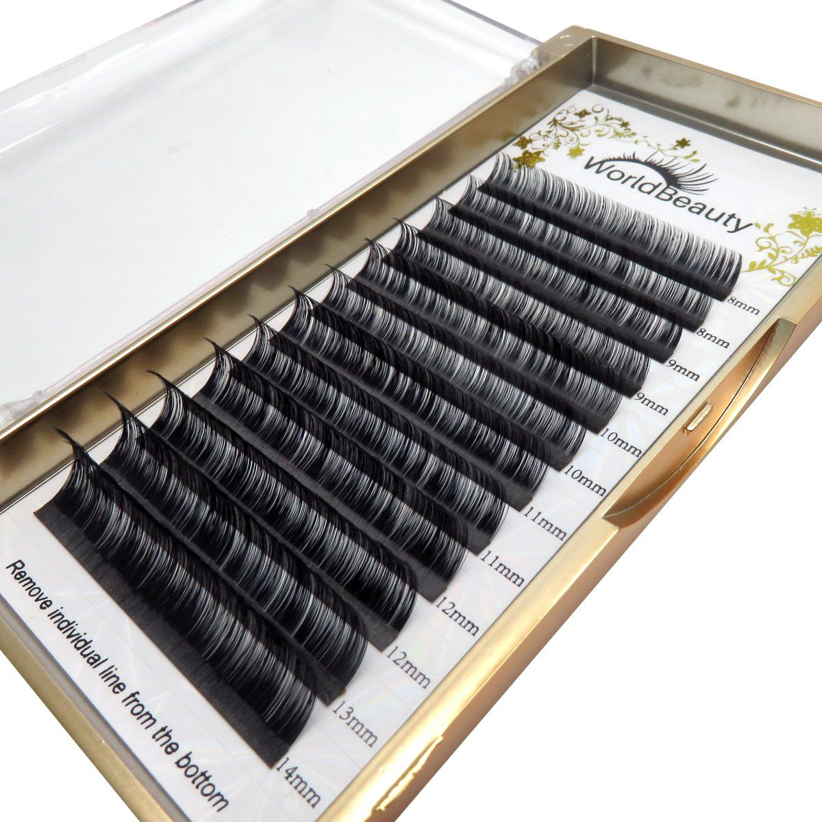 Volume Faux Mink Eyelash Extensions 0 03mm Thickness D Curl