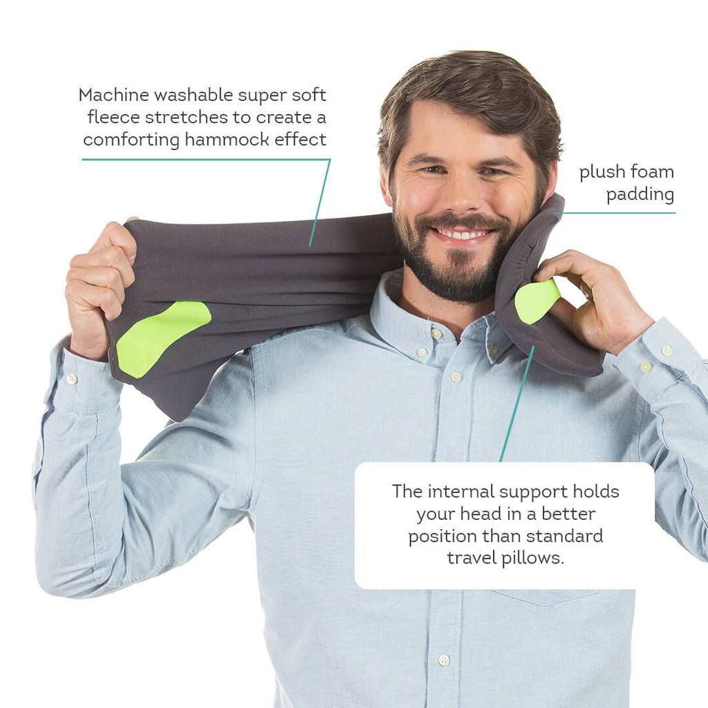 Trtl Travel Pillow Grey in 2020