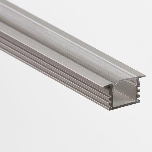 LED Aluprofil Leiste für LED Stripes C Unterputz klein