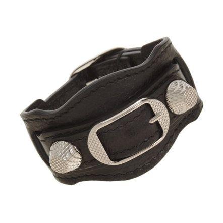Balenciaga Arena Giant Nickel Bracelet  shopmondechic.com http://bit.ly/1drWI2r