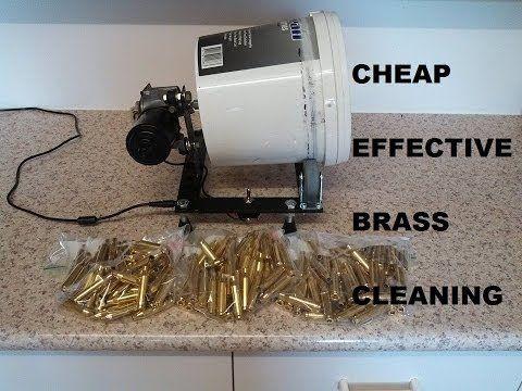 Homemade Stainless Media Brass Tumbler Reloading Ammo Reloading Equipment Reloading Bench