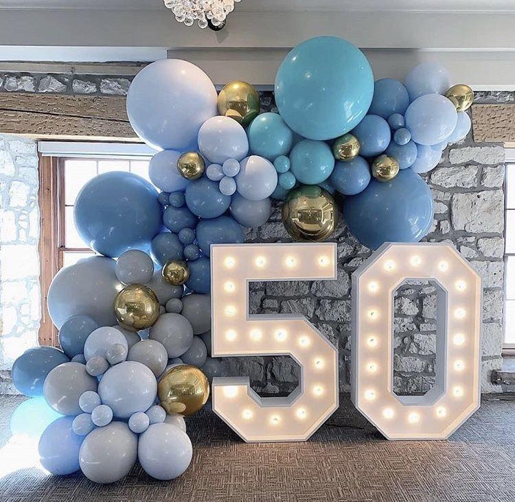 Поздравления мужу с 44 летием из шариков оформление