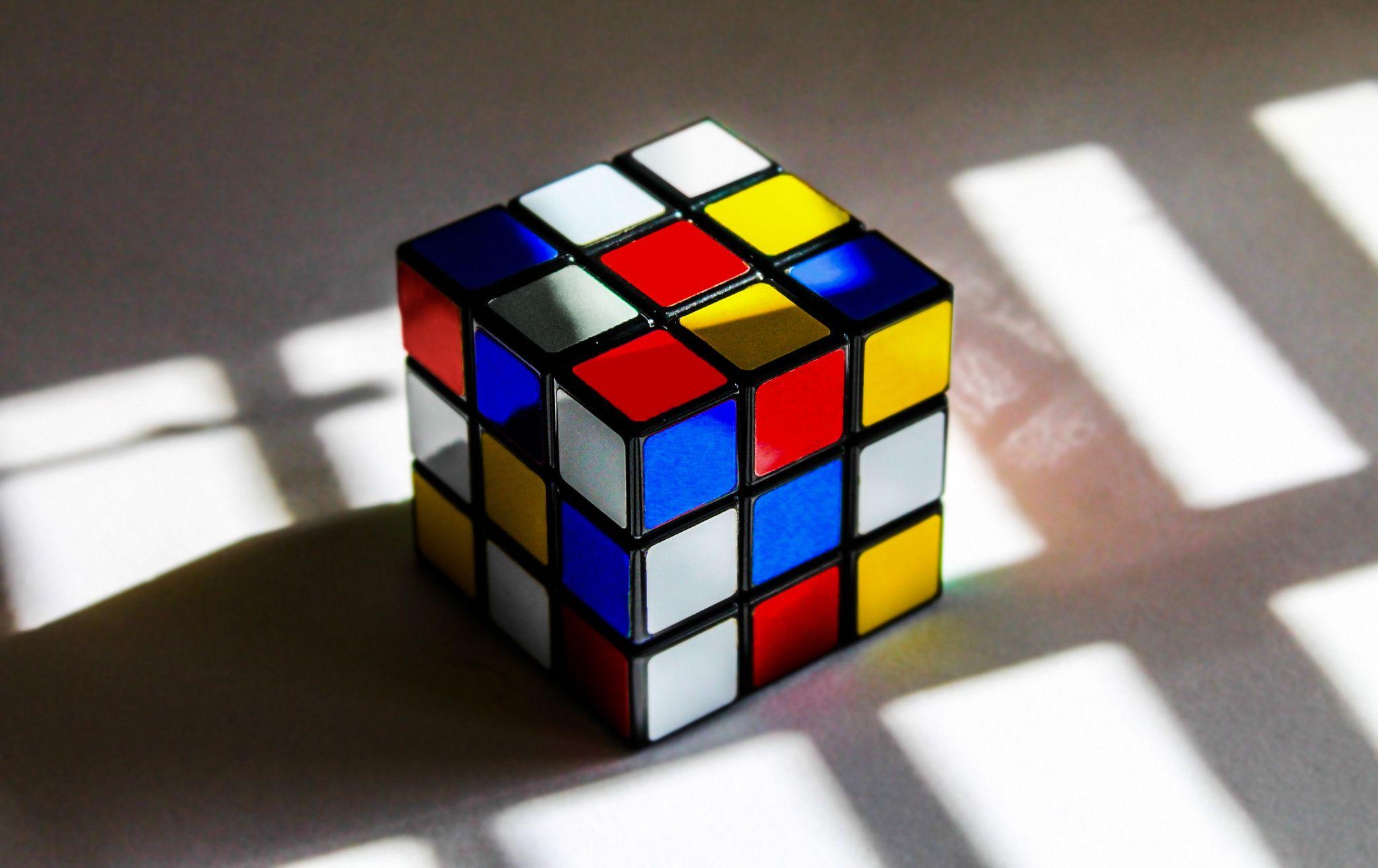Mondrian Rubik's Cube. by Beatrice  on 500px