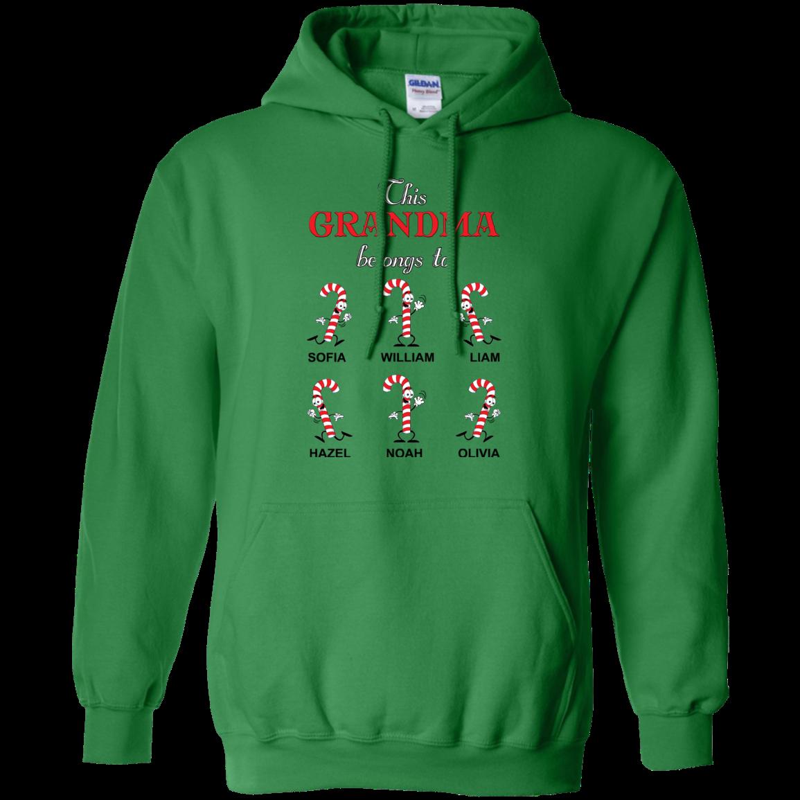 ☃️☃️ Candy canes Sweatshirts/Hoodies ☃️☃️ - Hoodie / Irish Green / 4XL