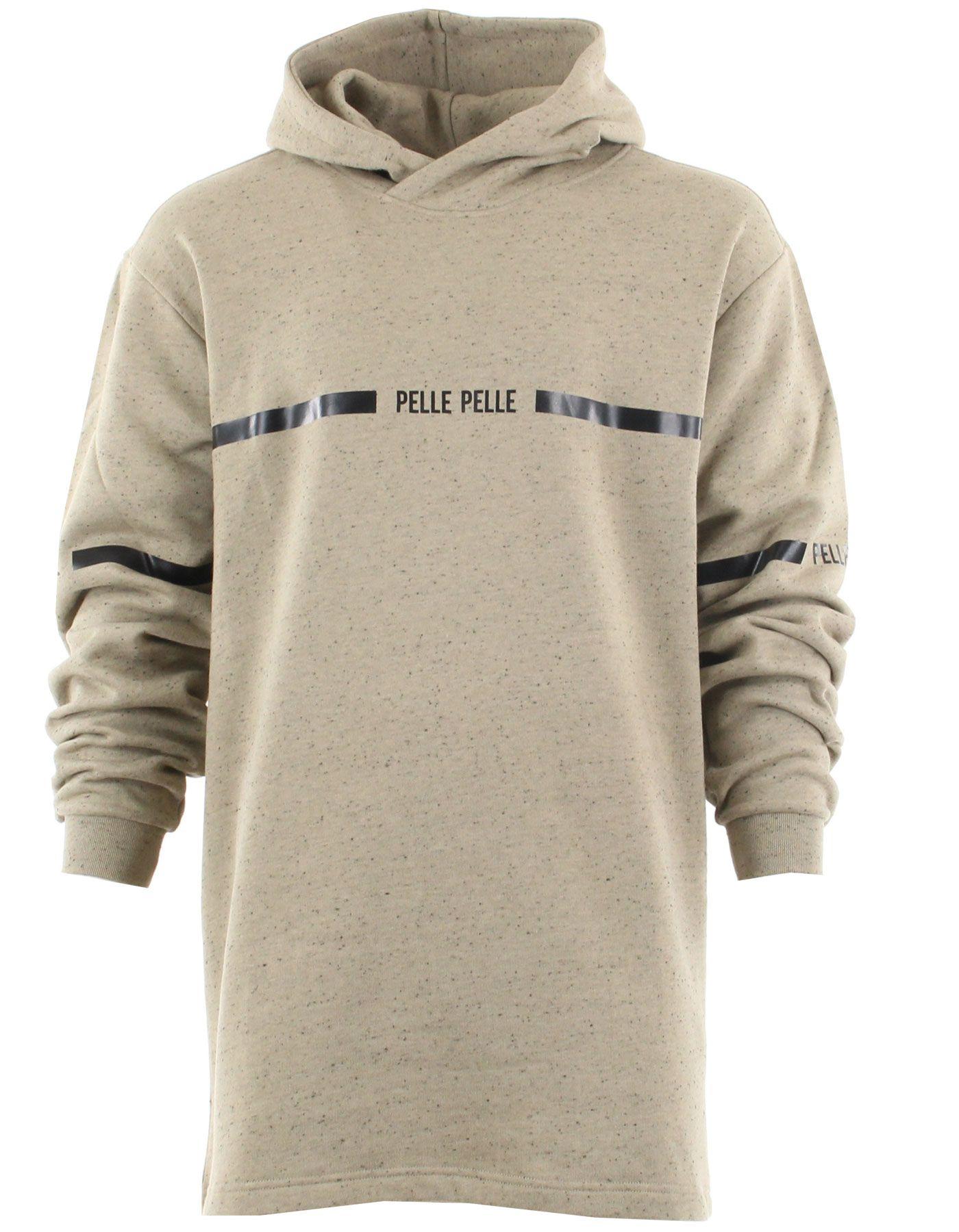 Superbe sweatshirt à capuche de couleur beige. La capuche est doublée et  croisée sur le 76ddbf8e294a
