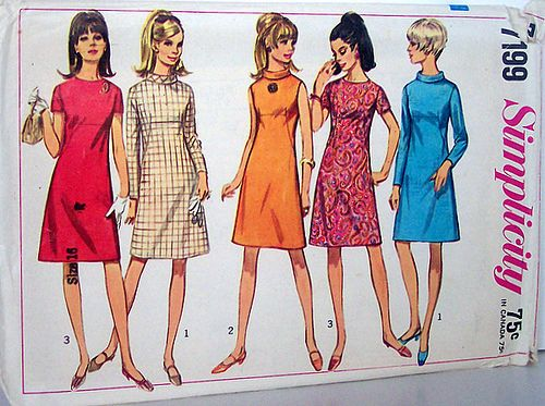 Image result for vintage dress patterns mod | Vintage Schnittmuster ...