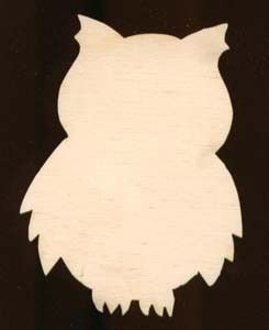 12 inch tall owl shape plaque sign natural craft by texasartcraft 999
