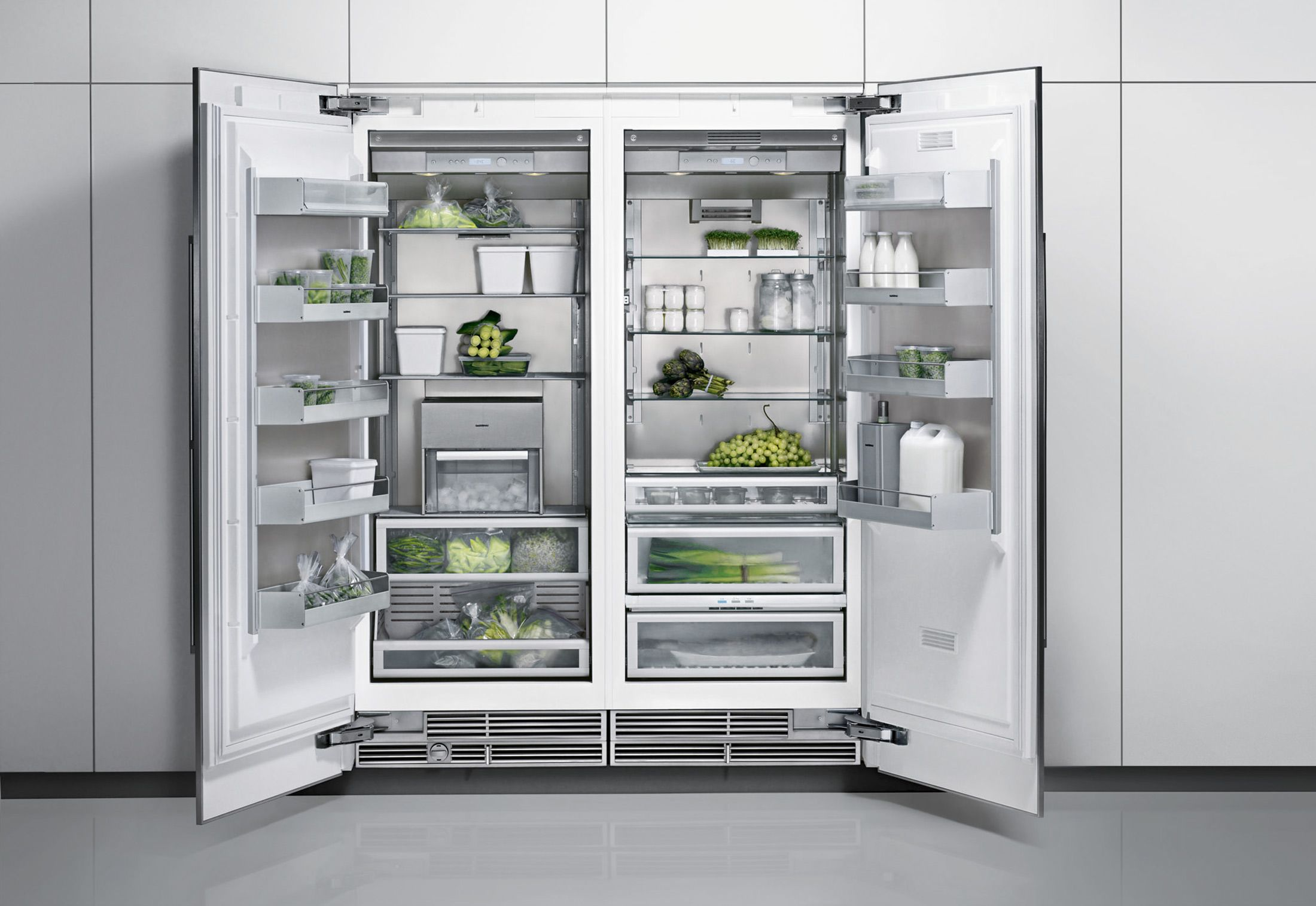 Gaggenau Kühlschrank Side By Side gaggenau doubke refrigerator home in the