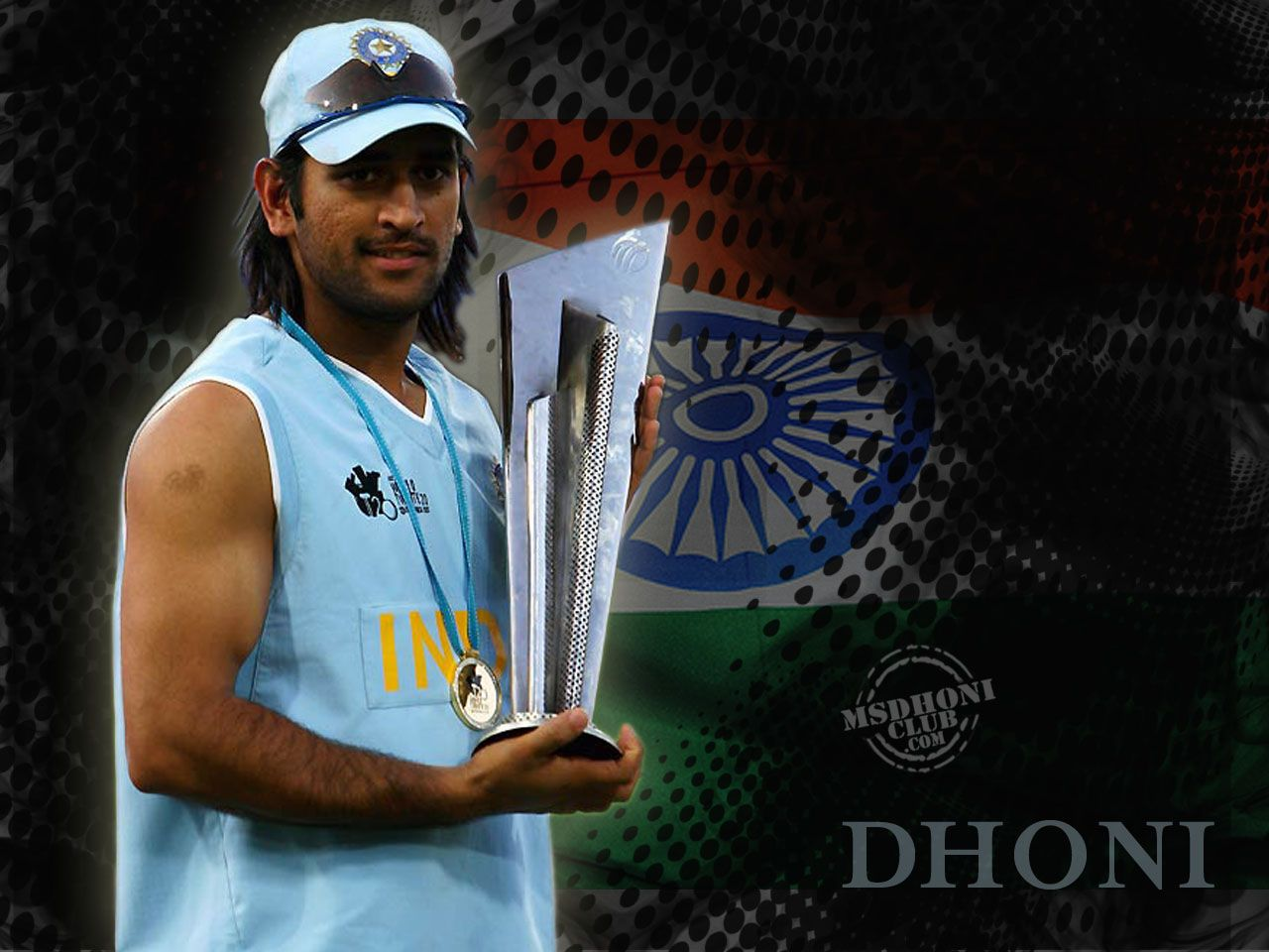 Ms Dhoni New Wallpapers Group