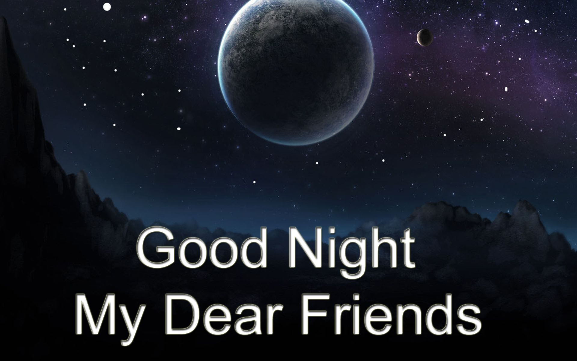 Night Good friends images pictures photos