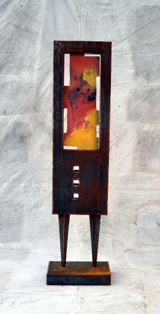 Kutija, metal art by Kennewick artist Joseph Rastovich