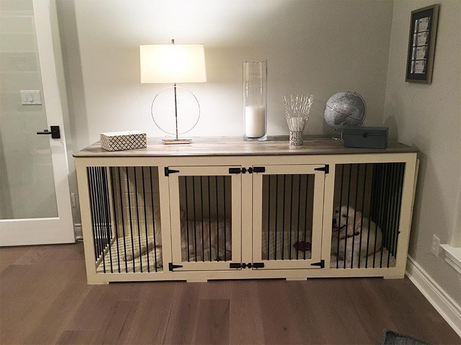 Farmhouse grey top home decor wood block flooring dog