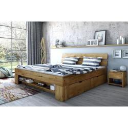 Doppelbett Siumu 21, Farbe: Beige – 160 x 200 cm (B x L) Steinersteiner – Products
