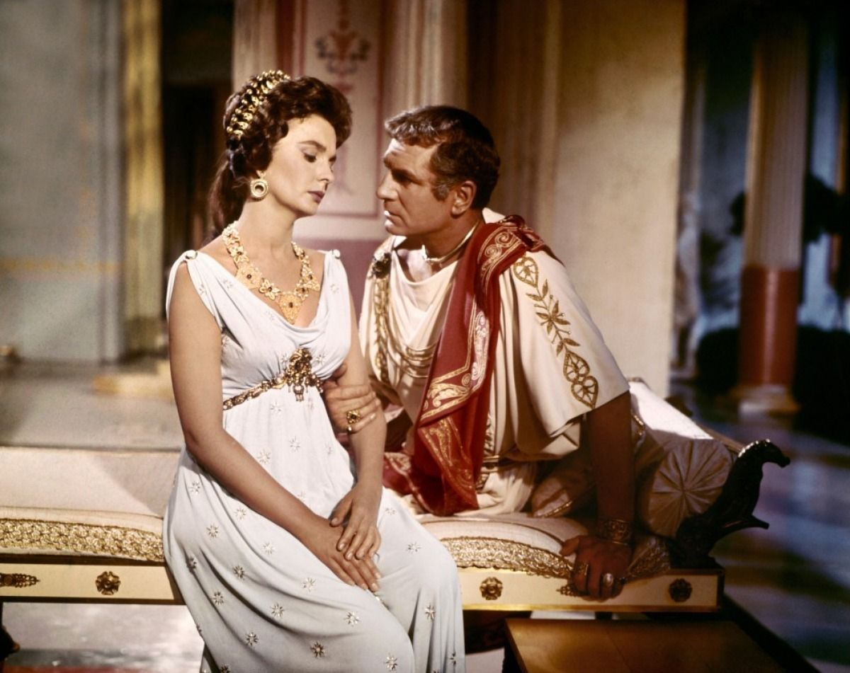 Laurence olivier spartacus quotes - Jean Simmons Laurence Olivier Spartacus 1960