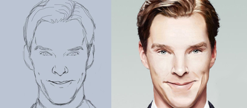 Photoshop Tutorial: Making a Realistic Male Portrait | a r t