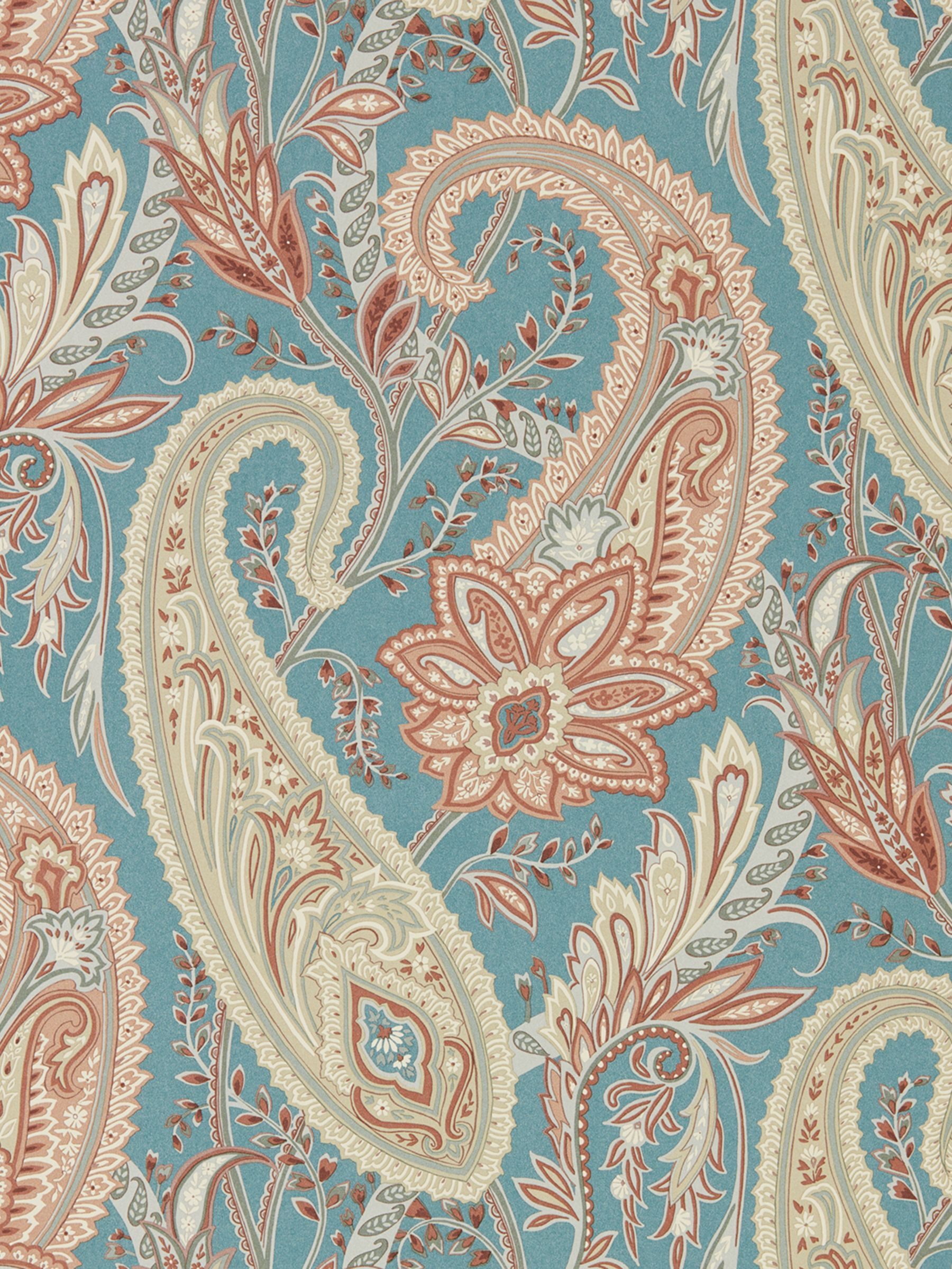 Sanderson Cashmere Paisley Wallpaper In 2020 Paisley Wallpaper