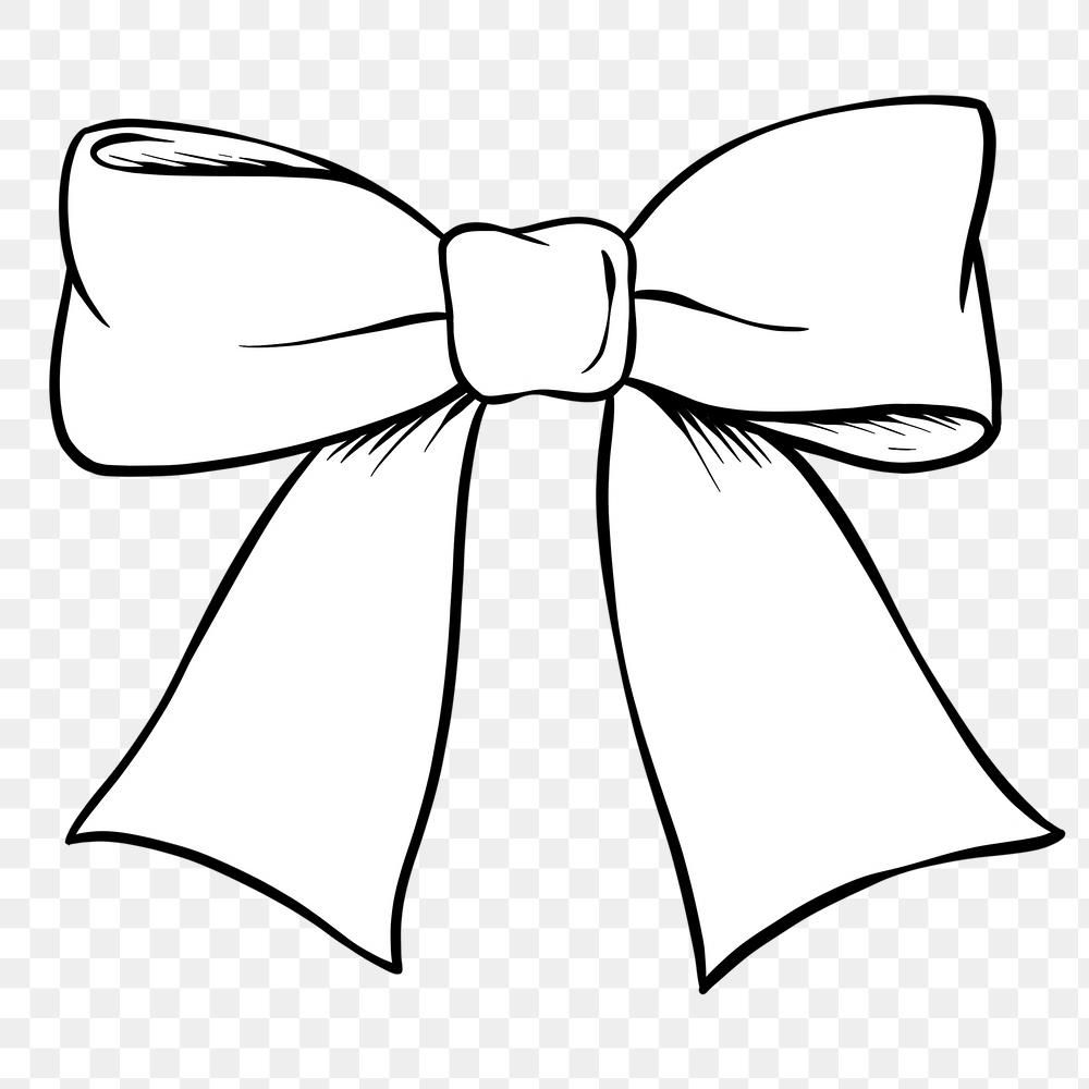 Hand Drawn Bow Design Element Free Image By Rawpixel Com Noon How To Draw Hands Bow Drawing Design Element