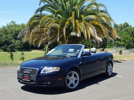 Convertible 2007 Audi A4 20t Cabriolet With 2 Door In Sonoma Ca