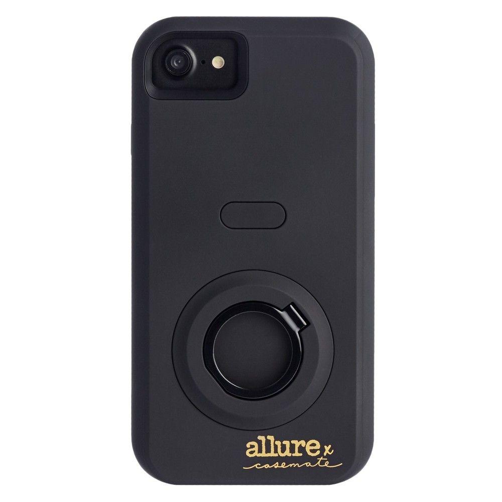 iPhone 7 Case CaseMate Allure Selfie Black Selfie