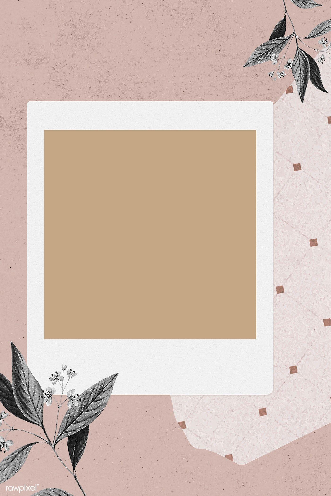 Download Premium Illustration Of Blank Collage Photo Frame Template On Instagram Frame Template Photo Collage Template Frame Template