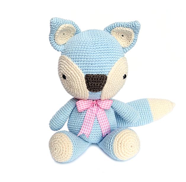 FOX Crochet Pattern | Ganchillo, Amigurumis patrones gratis y Patrón ...