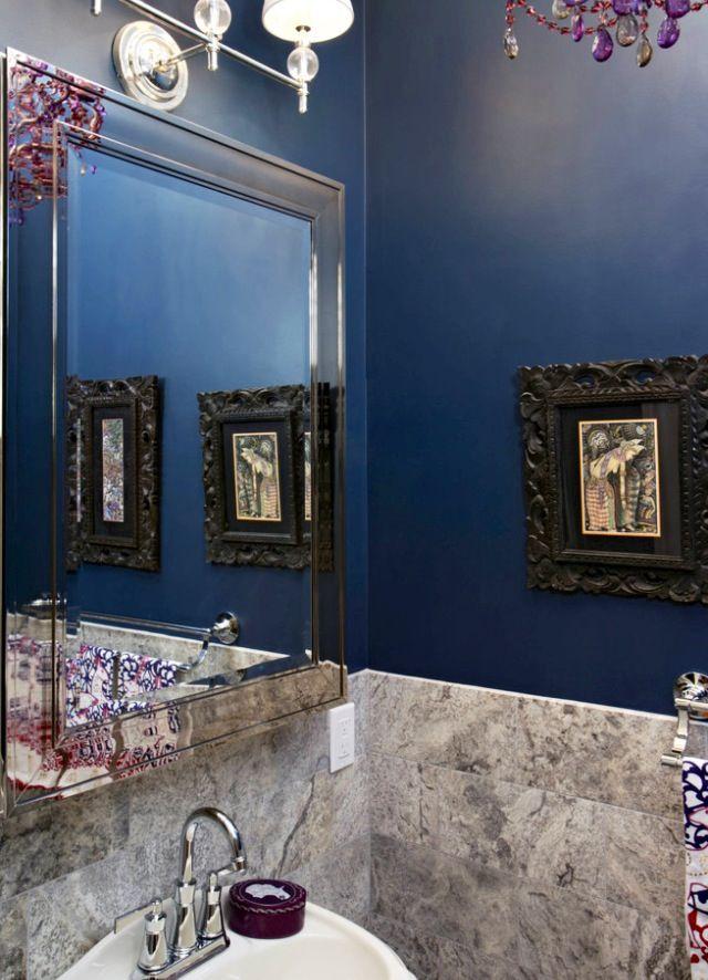 Cuarto de baño con paredes en mármol | Decoración de unas ...
