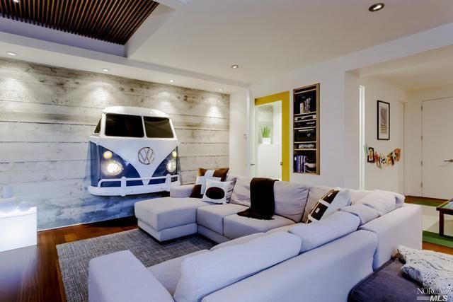 Vw Minibus In Your Living Room Anyone Home Living Room Style Furniture