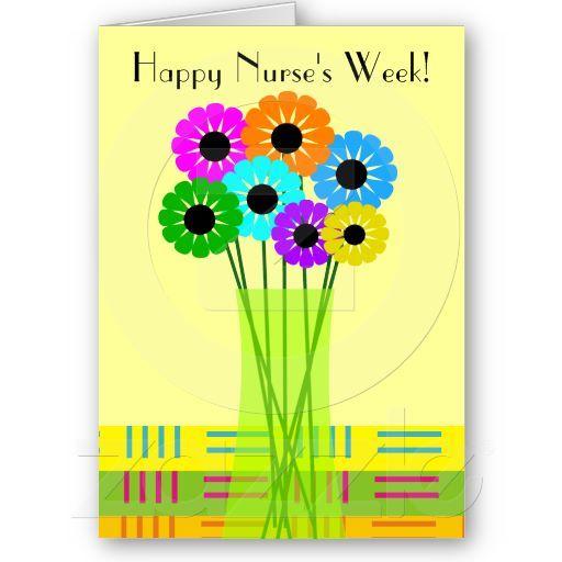 Happy nurses week card floral happy nurses week nurses week and happy nurses week card floral m4hsunfo Image collections