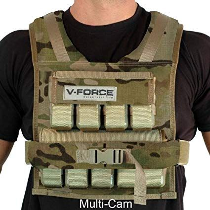 Weight Vest 45 Lb. VForce Made in USA Weighted vest