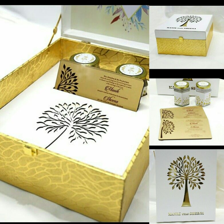 Royal Designer Indian Wedding Invitation Card Box Style