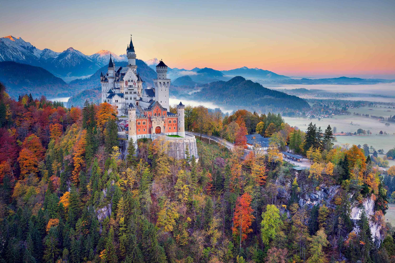 Neuschwanstein Castle Bavaria Germany National