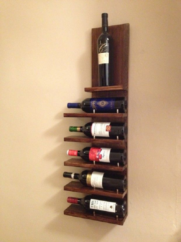7 DIY Wine Racks | Rack\'em up | Pinterest | Diy wine racks, Wine ...